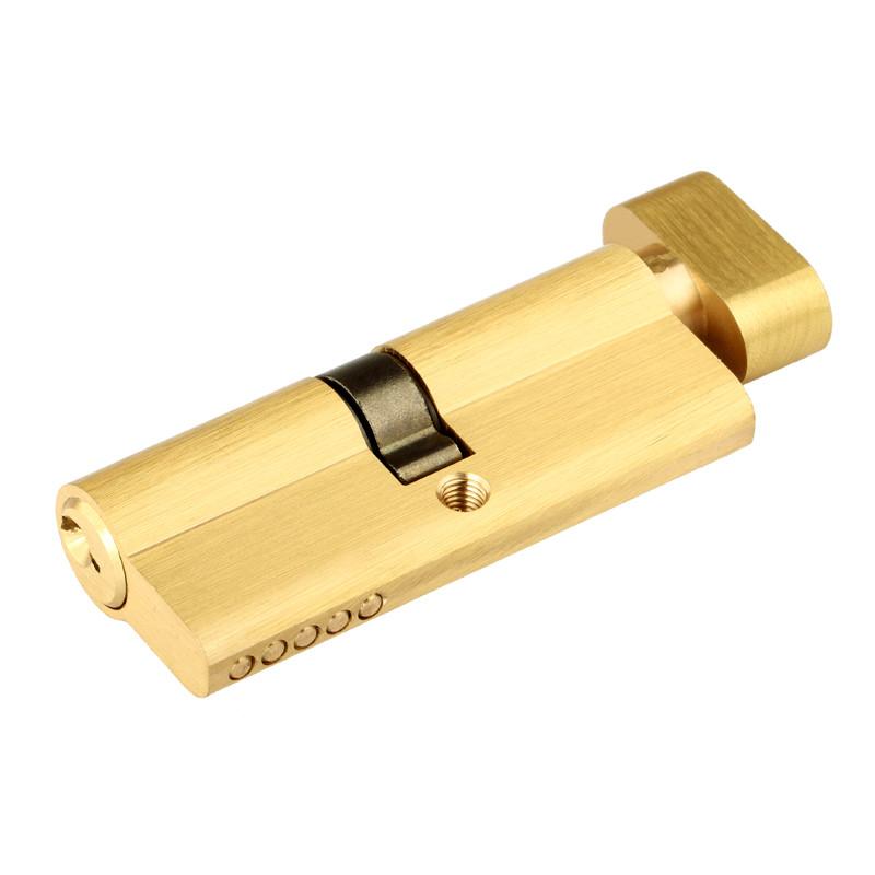 室内门锁纯铜锁芯 房间卧室单开防盗房门木门执手锁芯