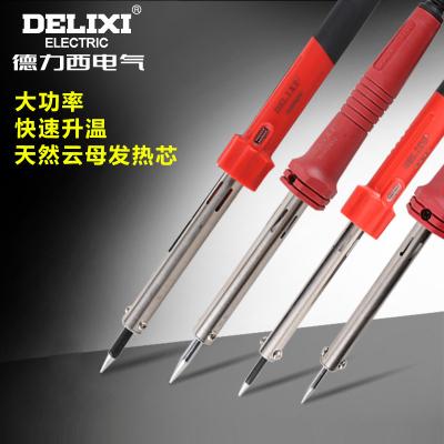 德力西電氣電烙鐵焊接30W60W小型迷你家用錫焊便攜恒溫電烙鐵