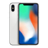 苹果 (Apple) iPhone X 港版 全面屏手机 5.8英寸 全新未激活 Face ID 银色 64GB