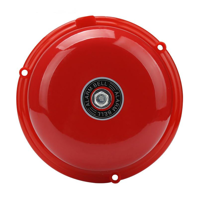 10寸消防警铃套装 消防电铃火警电铃火灾报警器带紧急