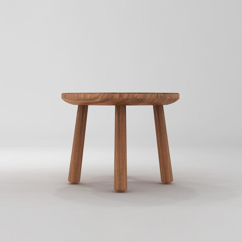 淮木 时尚创意儿童凳小凳子实木板凳 换鞋凳矮凳小圆凳图片