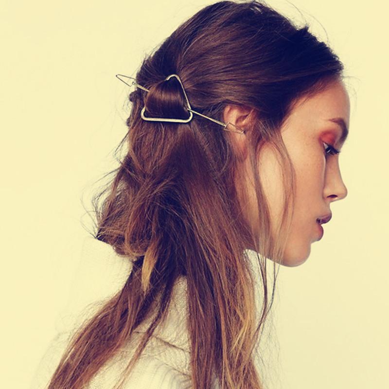 彩丽馆新款欧美时尚复古发饰民族风发钗头饰元素三角女士发簪dndz8646