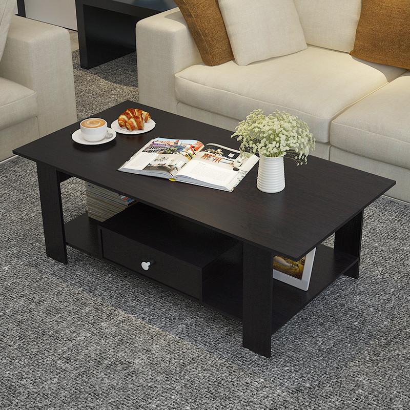 千住明欧式小茶几现代简约桌客厅长方形矮桌小户型茶桌沙发边几边柜角