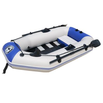 速澜 橡皮艇加厚皮划艇充气钓鱼船 1-2人标准套餐