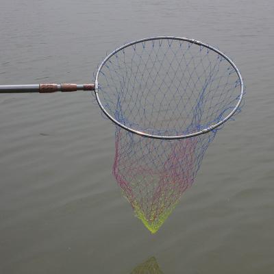 可定位不銹鋼涂膠抄網 折疊 抄魚網 抄網桿 抄網頭