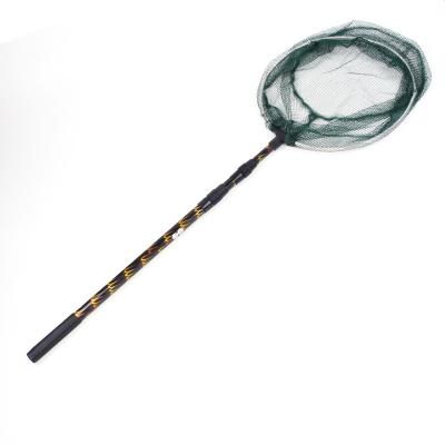 铝合金捞鱼网兜钓鱼抄网伸缩杆折叠头渔具配件大小操抄鱼捞网用品