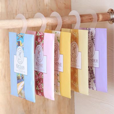 意維斯Itweiss 可掛式香包6件裝 衣櫥飄香袋衣柜香包香袋汽車薰衣草香囊玫瑰檸檬香包干花熏香料掛件