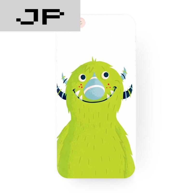 jp潮流品牌可爱怪兽学院卡通原创苹果i6s手机壳iphone75s 6s plus全包
