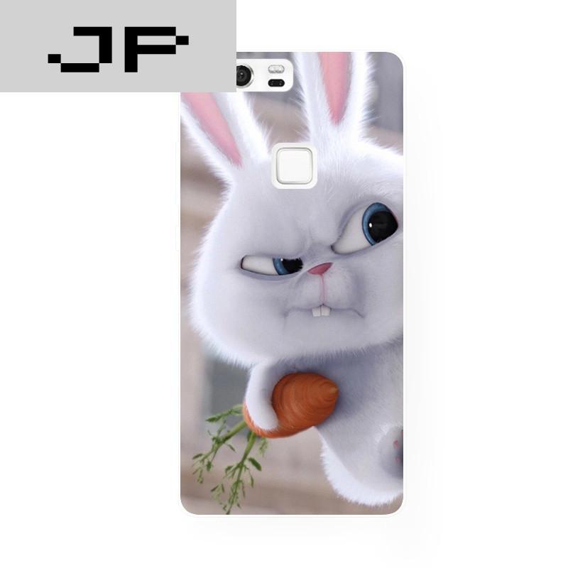 jp潮流品牌欧美爱宠大机密可爱大牙萌兔华为 p8 9荣耀