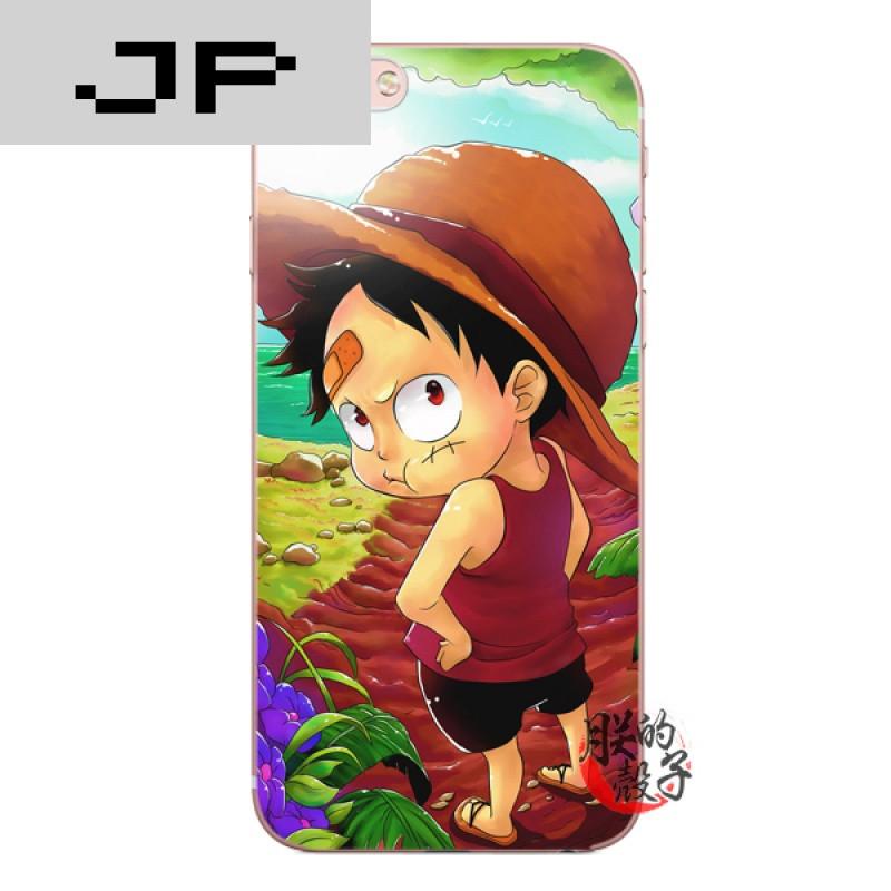 jp潮流品牌日本动漫可爱小路飞苹果iphone7 6s 5c 5s