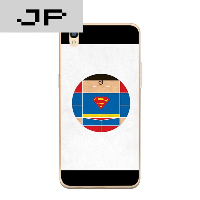 jp潮流品牌 可爱卡通人oppor9硅胶手机壳r9plus搞笑男