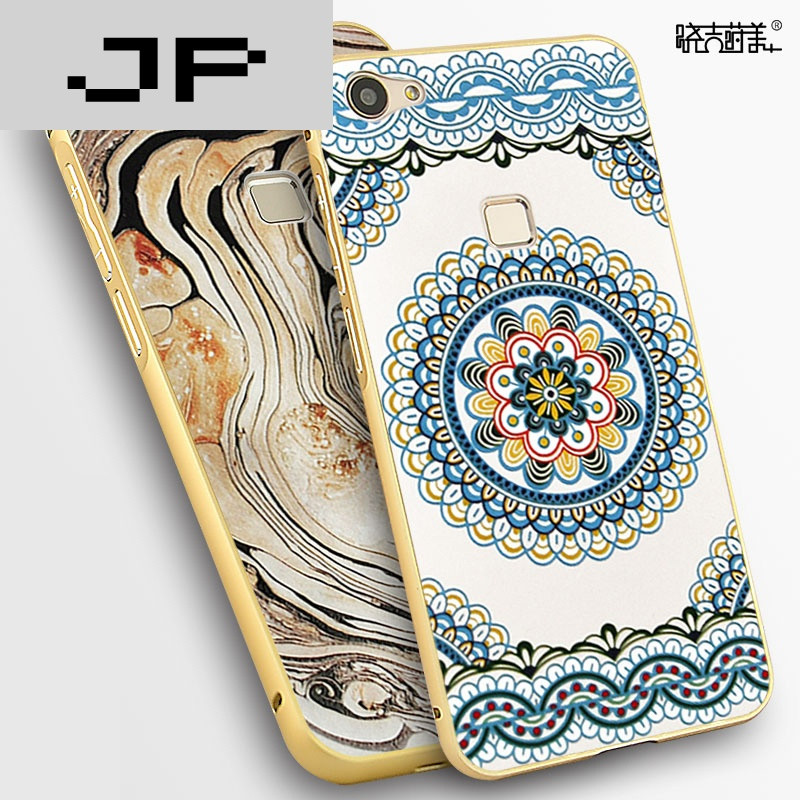 jp潮流品牌vivox6plus手机壳步步高x6splus金属plusd边框vivix防摔