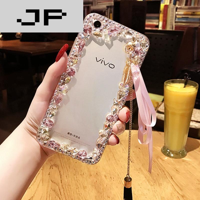 jp潮流品牌oppor11手机壳女款边框水钻r11plus全包手机壳保护套潮牌