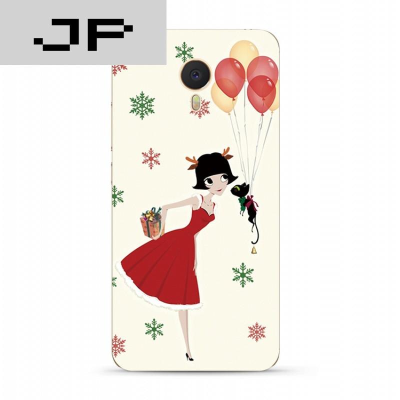 jp潮流品牌简约可爱魅族魅蓝3s note5 3 2 metal手机壳清新卡通全包