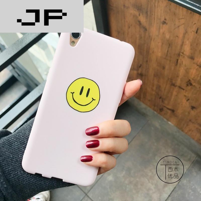 jp潮流品牌清新笑脸oppor9手机壳oppor11/r9s/r9p韩国