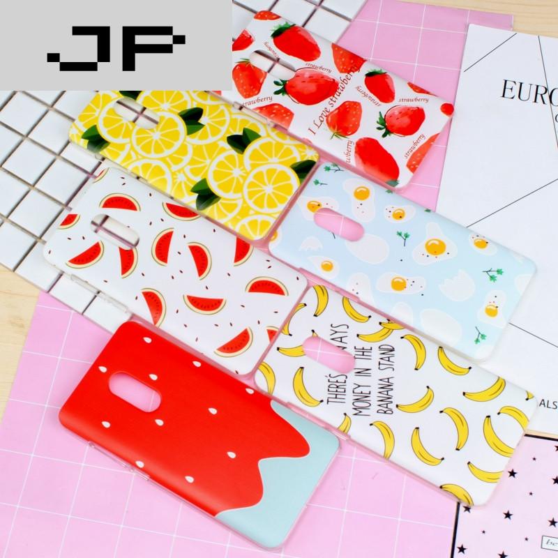 jp潮流品牌小清新夏天可爱水果小米红米note4x手机壳note3硬壳note2女