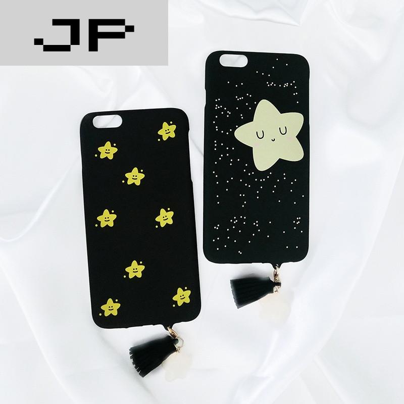 jp潮流品牌韩国可爱iphone6/6s/plus 手机壳苹果7半包