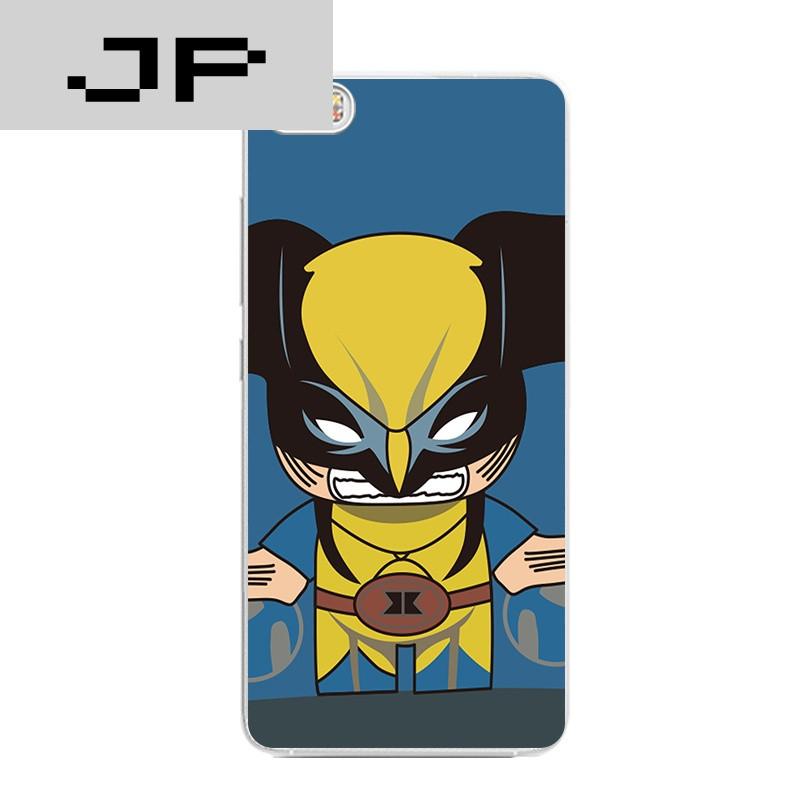 品牌mi小米note/5手机壳max超薄软壳红米note4x卡通可爱超人蝙蝠侠