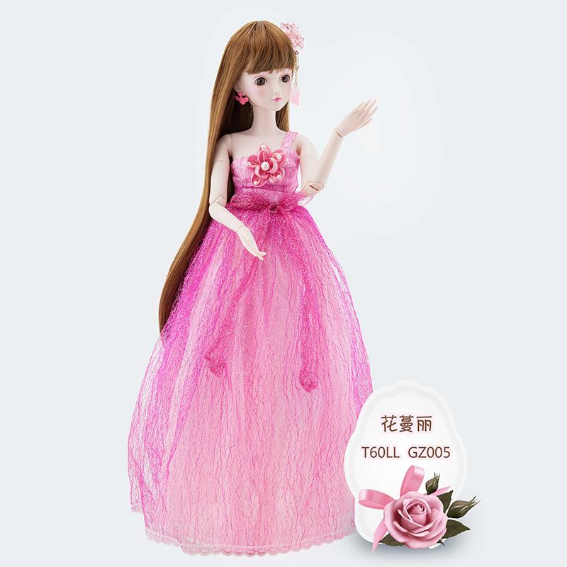正品精灵梦叶罗丽娃娃公主系列花曼丽60cm能化妆改装人偶女孩玩具图片