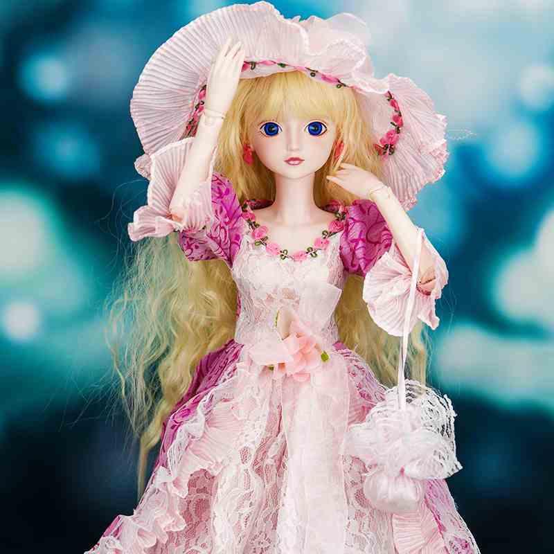 正品叶罗丽娃娃公主系列维多利亚60cm能化妆人偶玩具关节可动包邮图片