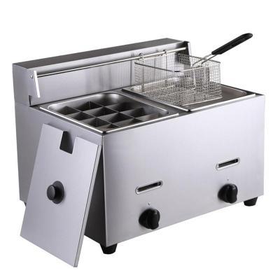 纳丽雅 商用电热关东煮机器多功能麻辣烫机器 燃气12格