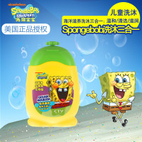 海绵宝宝(SPONGEBOB SQUAREPANTS)海洋滋养洗沐三合一210g