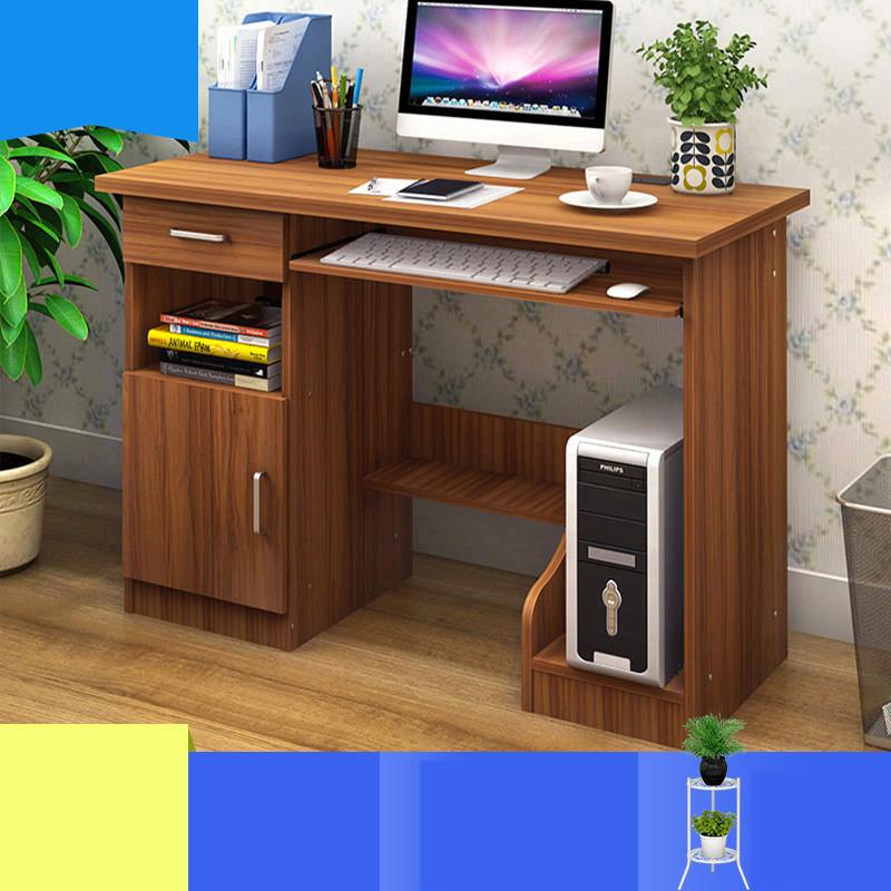 电脑桌台式家用学生简约现代办公桌简易书桌电脑台式桌子卧室生活家居