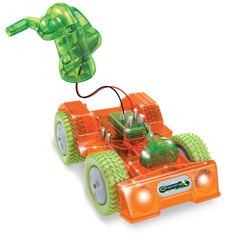 科技小制作小学生科普diy手工发明材料拼装玩具太阳能手摇发电汽车