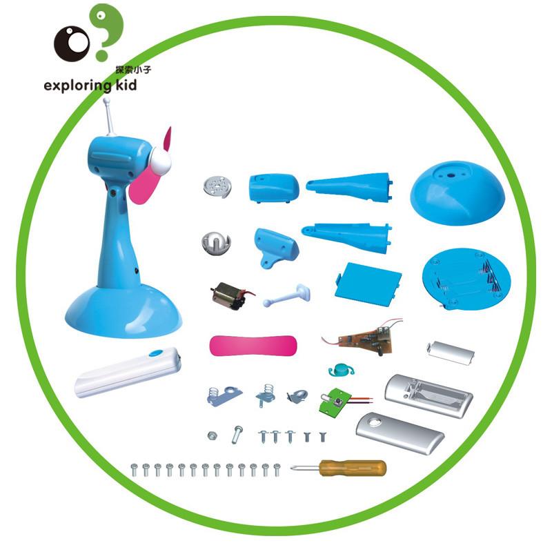 探索小子儿童科学实验科技手工小制作小学生科普手工小发明实验材料拼