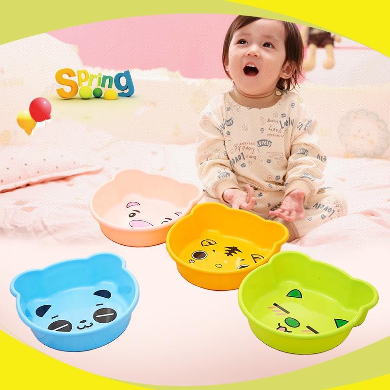 家用婴儿大号小加厚儿童宝宝洗衣盆盆子塑料盆塑料洗脸盆