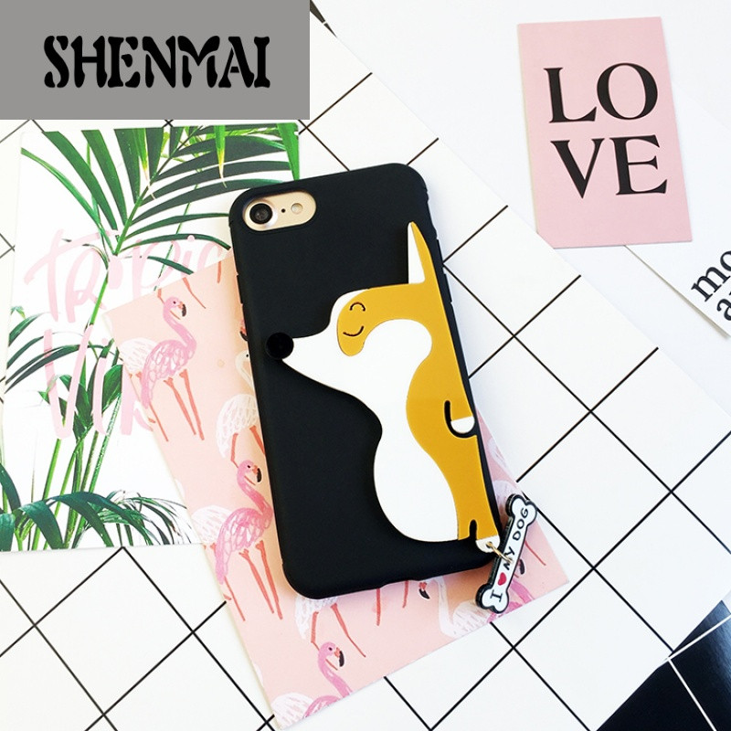 shm品牌金立gn5003韩国网红柯基狗狗gn5005手机壳创意个性可爱女款