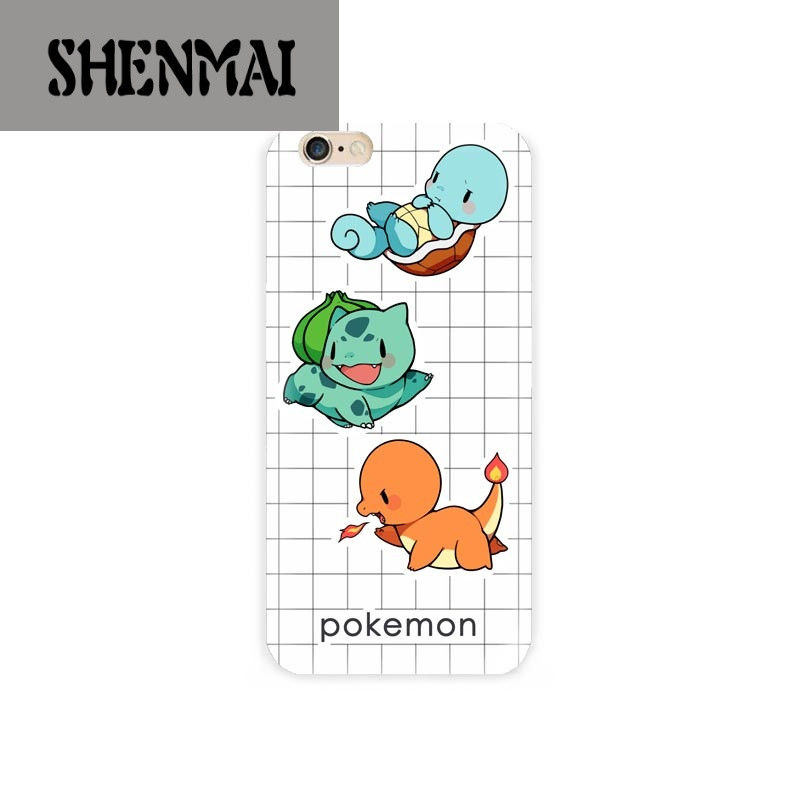 shm品牌可爱皮卡丘手机壳5iphone6plus7/8x软口袋宠物小精灵神奇宝贝