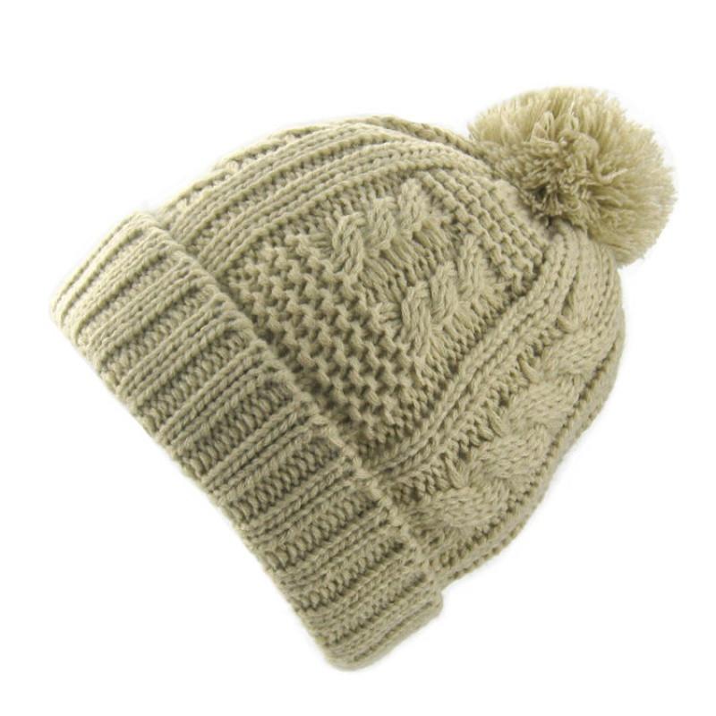 新款爱的热浪儿童童帽子 护耳手工女童毛线帽宝宝针织