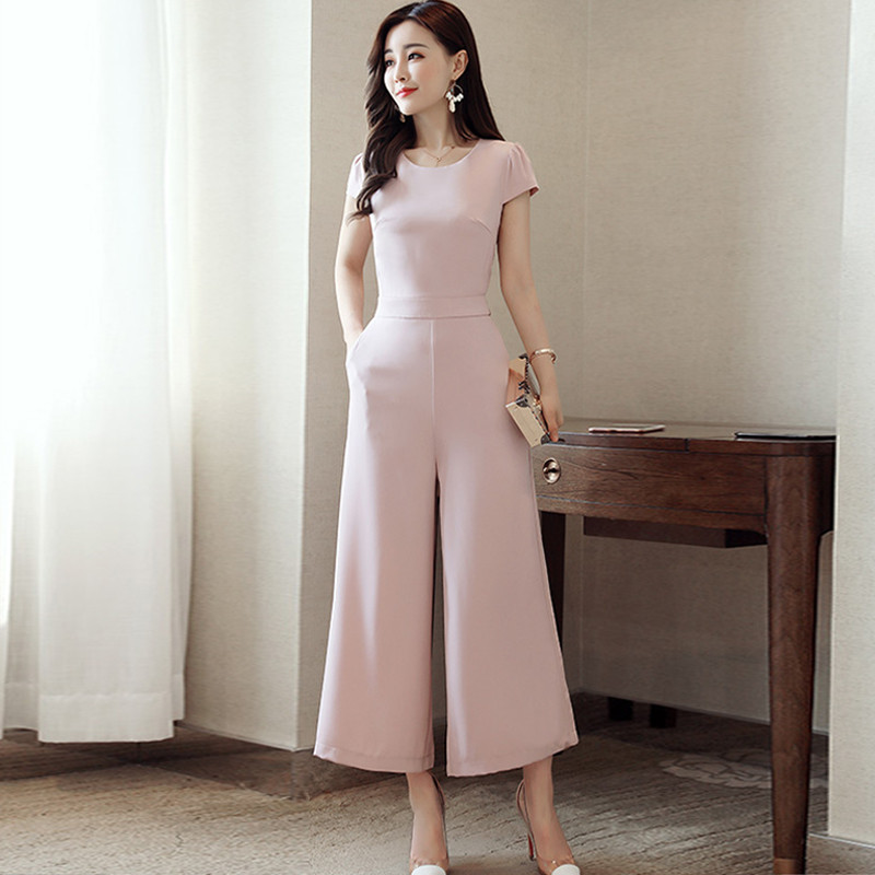 2017夏装新款女装坊时尚套装裙子两件套连体裤