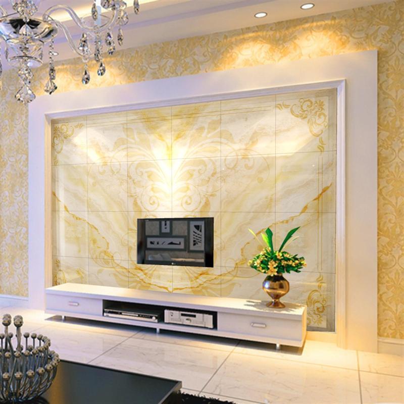 塞拉维3d大理石瓷砖背景墙现代简约客厅影视墙瓷砖高温烧制微晶工艺