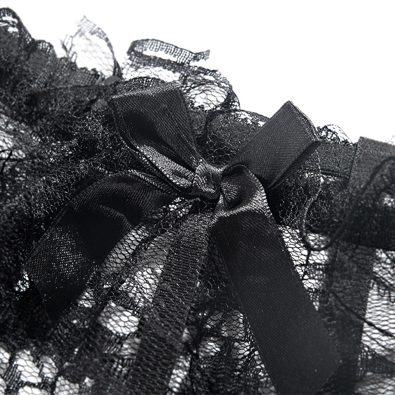 2017款】丝袜性感黑色蕾丝袜情趣内衣刑具长筒情趣奴狗吊带欧美sm图片