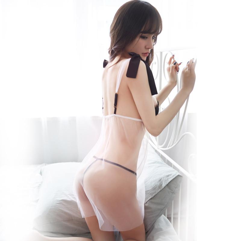 性感小骚妇qvod_818款情趣内衣服激情套装制服三点式透明睡衣小胸sm骚透视装性感用品