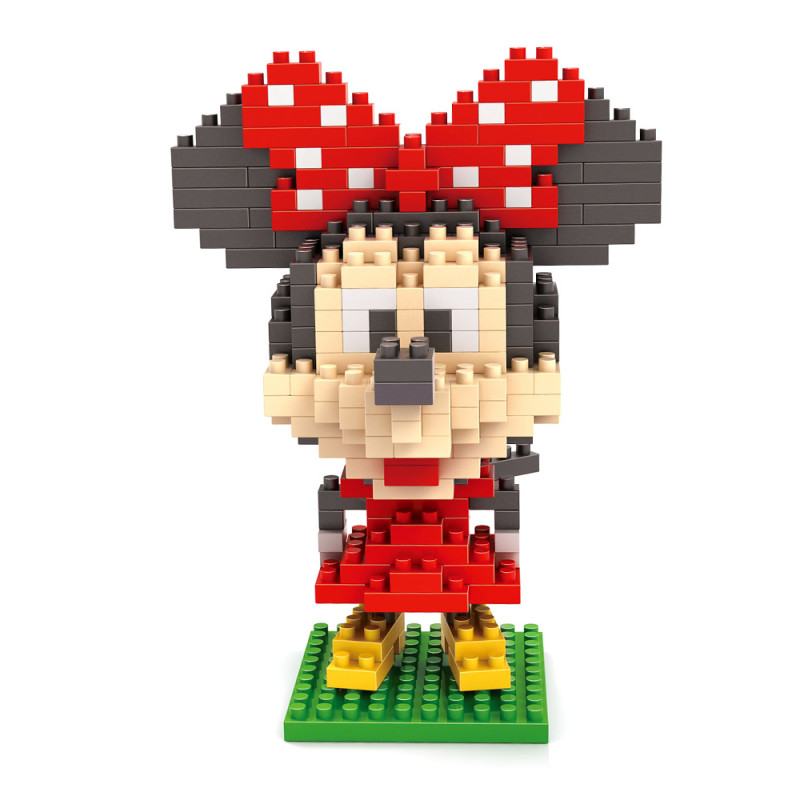 新款小颗粒拼装玩具 米奇老鼠系列 米奇玩具积木微钻颗粒积木-9414