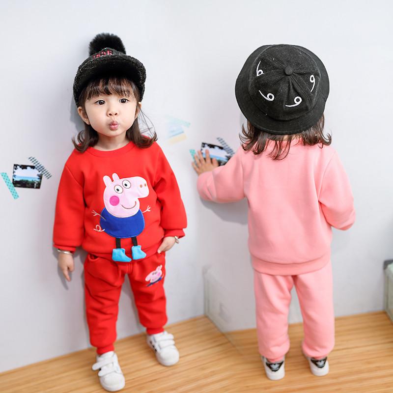 2017女宝宝秋装岁潮2儿童1小女孩秋季衣服4女童套装2017新款5韩版6