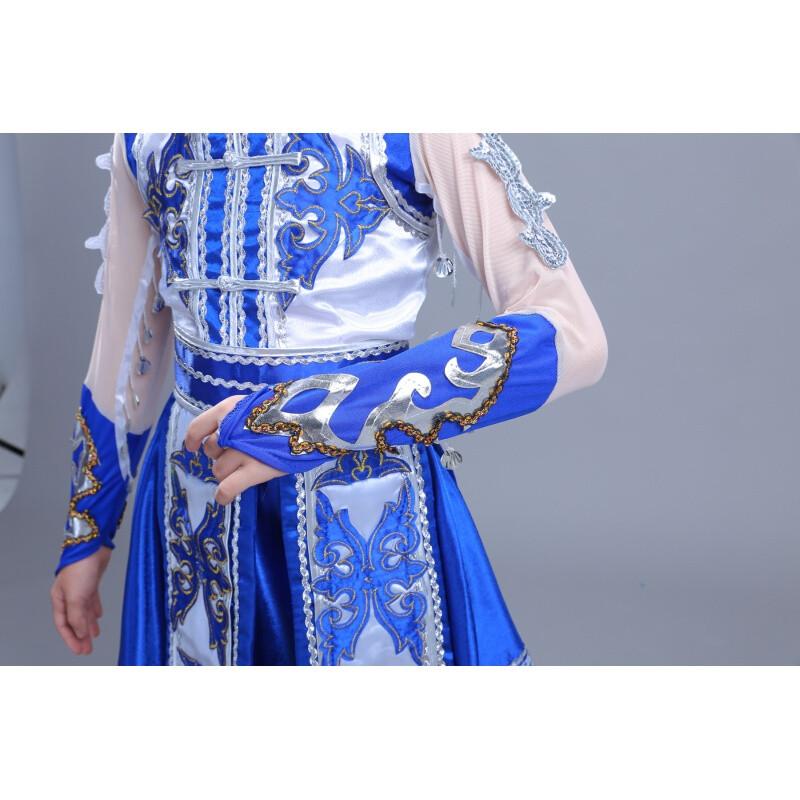 ctrlcity儿童演出服女童少数民族蒙族舞蹈服装少儿童蒙古族舞蹈表演