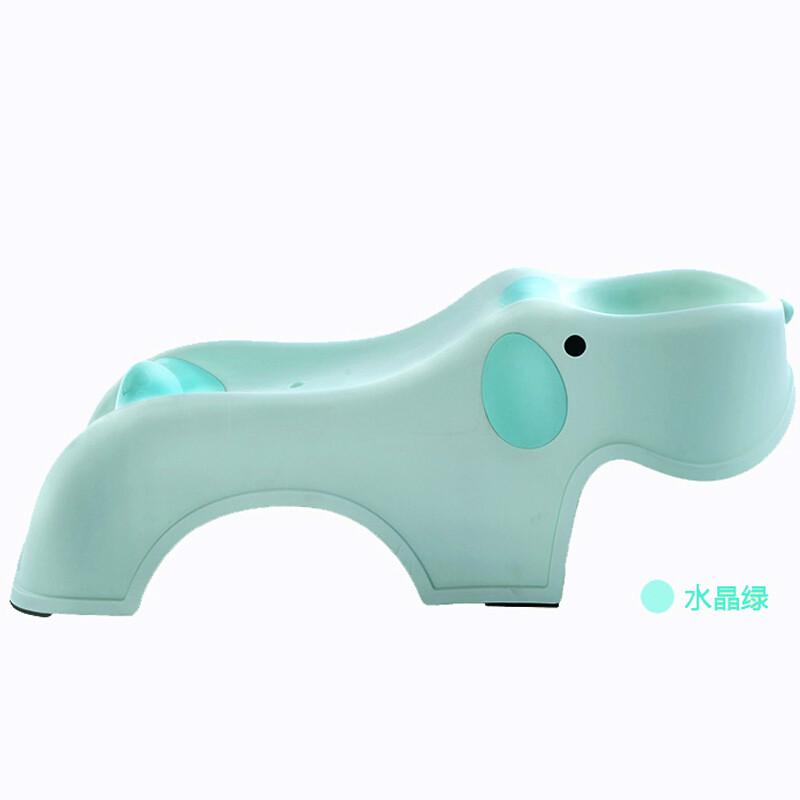 智扣 儿童洗头椅洗头床宝宝洗头躺椅 水晶绿