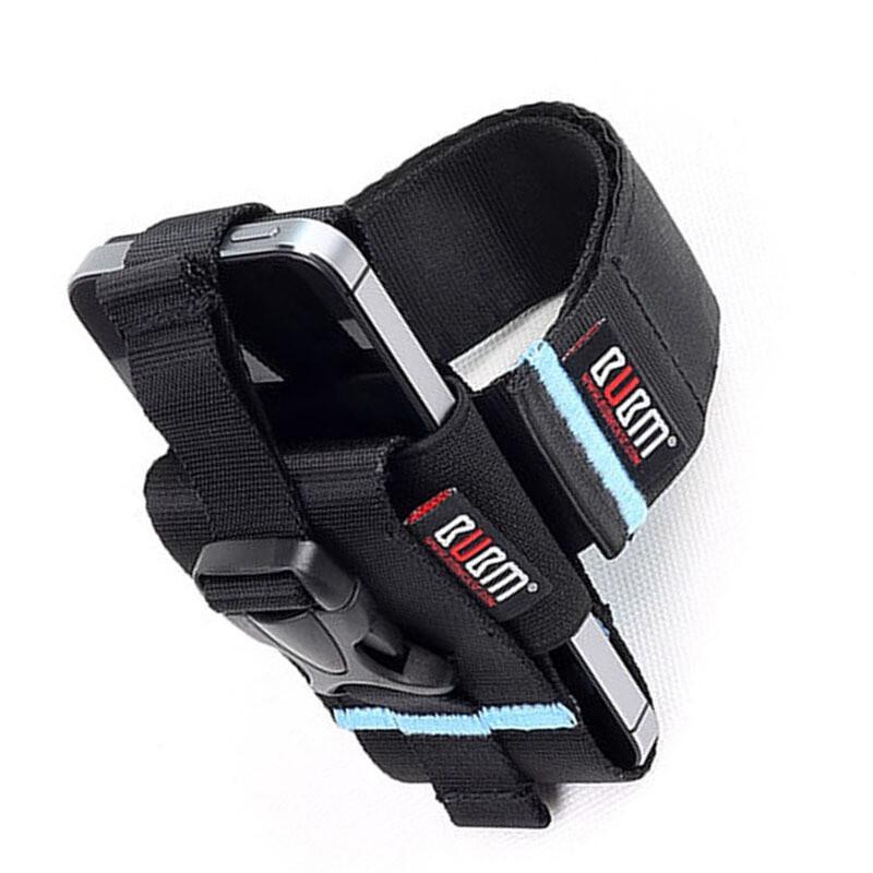 三星note手机臂带运动臂套户外运动跑步臂包小米华为手机臂带荧光蓝