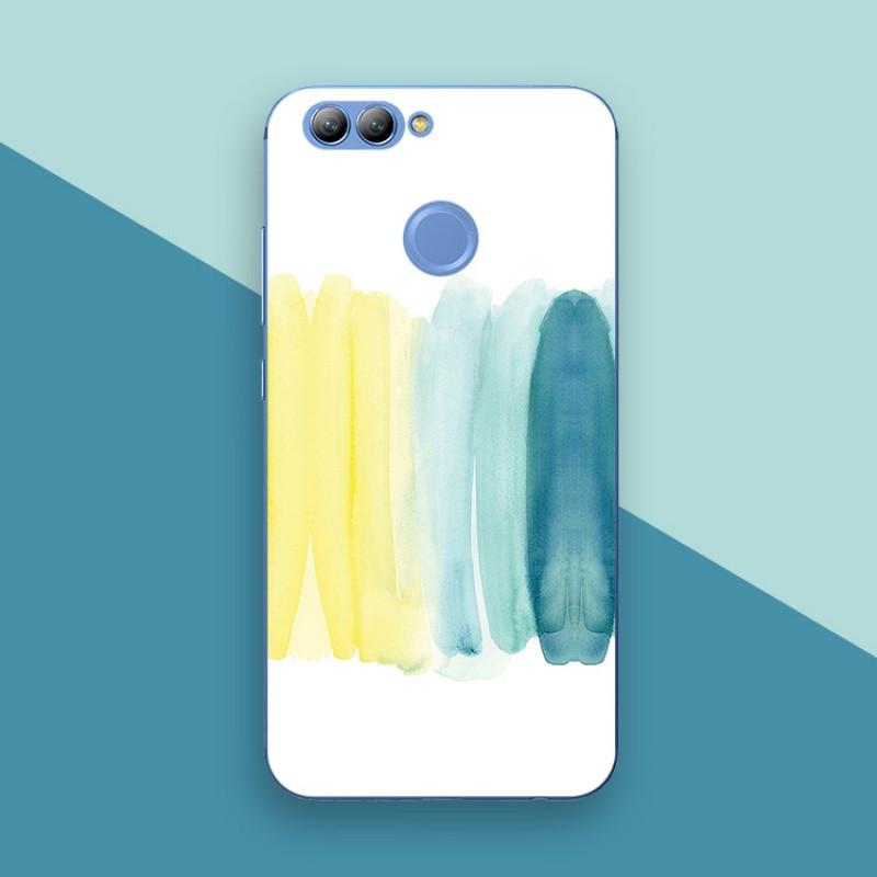 2017款华为nova2 plus华为nova青春版手机壳保护套水彩文艺术简约个性