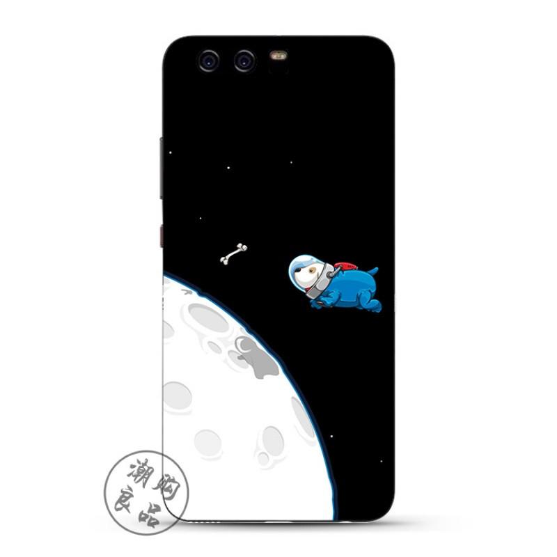 眉���9/g9�*_2017款华为p10/p9/p8/g9plus手机壳青春版硅胶男款原创欧美黑色太空