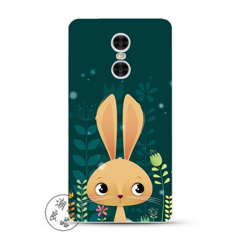 款小米红米note4x/3/2/4a/pro手机壳硅胶防摔韩国可爱卡通绿底兔子