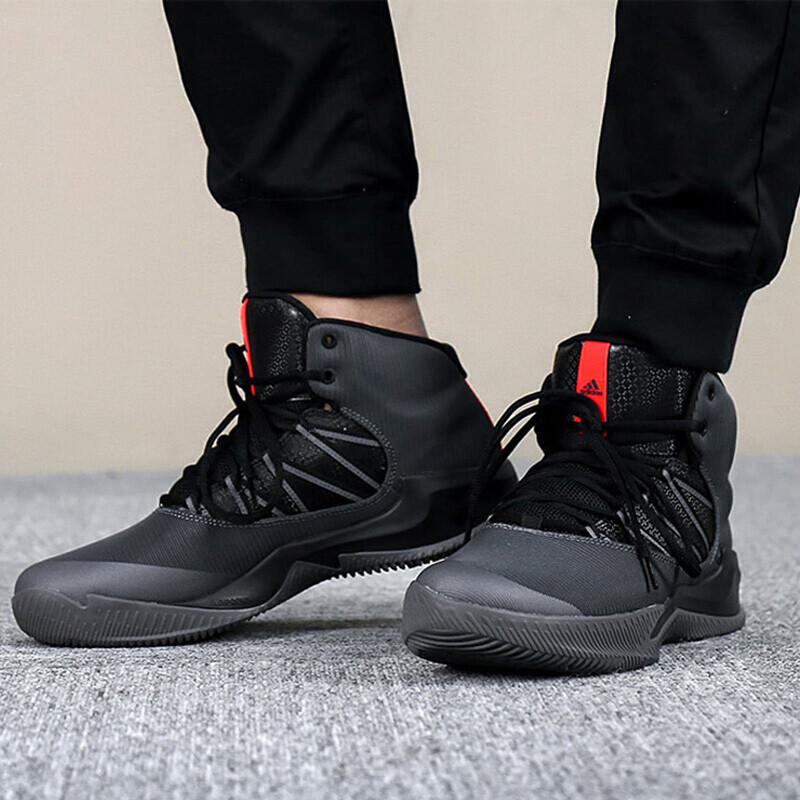 Adidas阿迪达斯男鞋2018春季新款运动高帮实