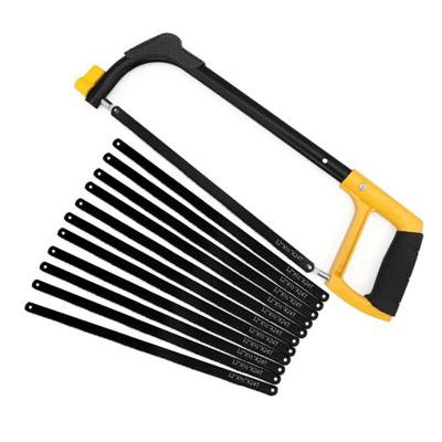 鋼鋸架手工鋸鋸弓架鋸條架木工鋸手鋸家用迷你小拉花鋸子鋼絲鋸