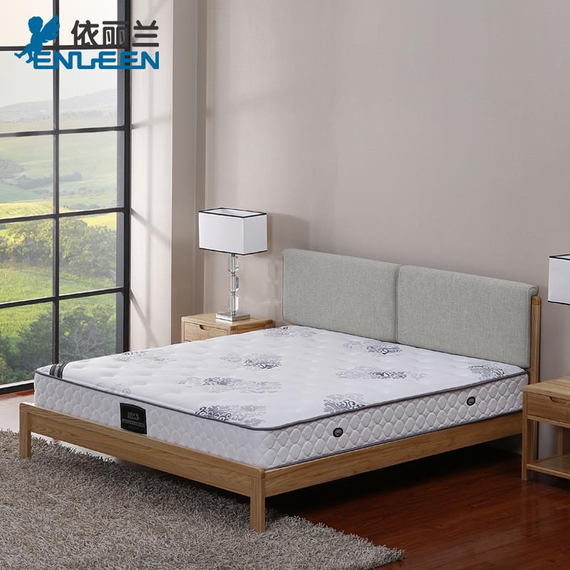 依丽兰 北欧简约实木床大床1.5米1.8m白蜡木双人床家具 北欧b款