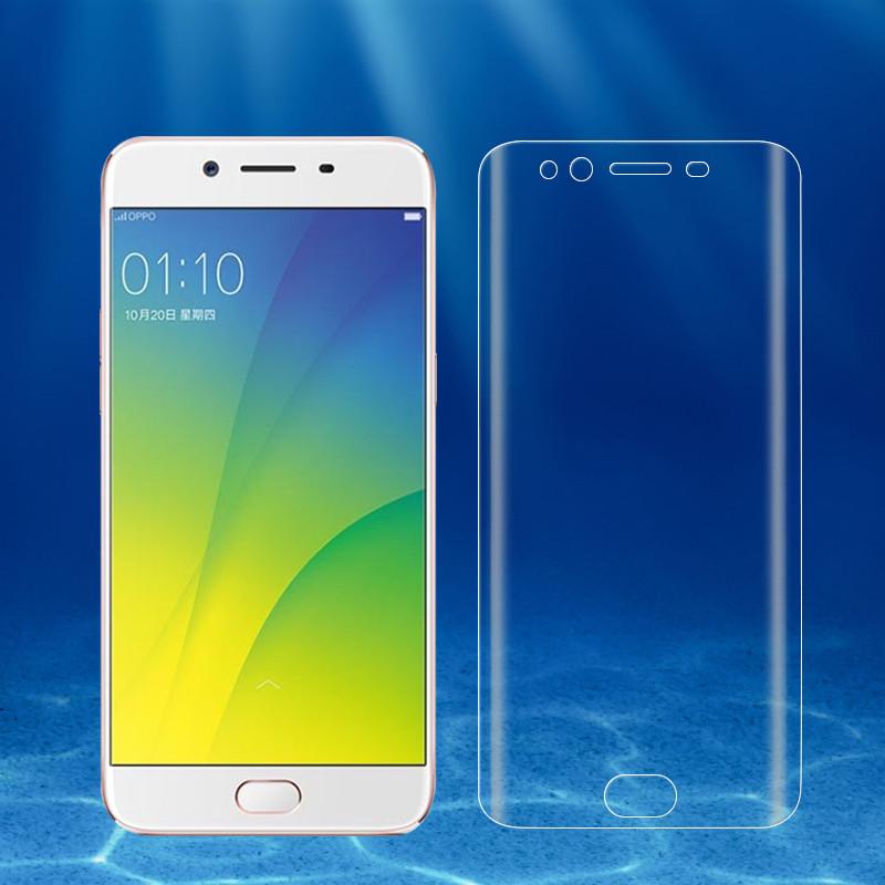 oppor9s水凝膜3d高清r9splus全屏钢化软膜r9s防爆透明r9手机贴膜