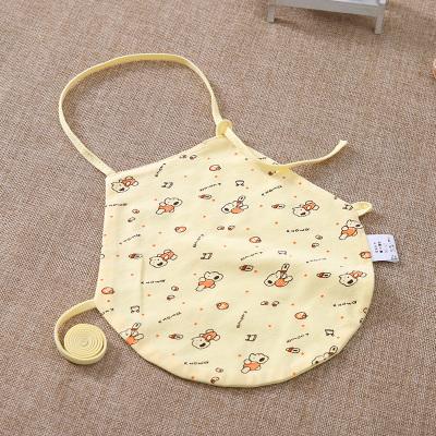 902新款嬰兒童夾棉護肚臍兜兜 幼兒寶寶棉睡覺肚兜 新生兒小孩四季通用定制